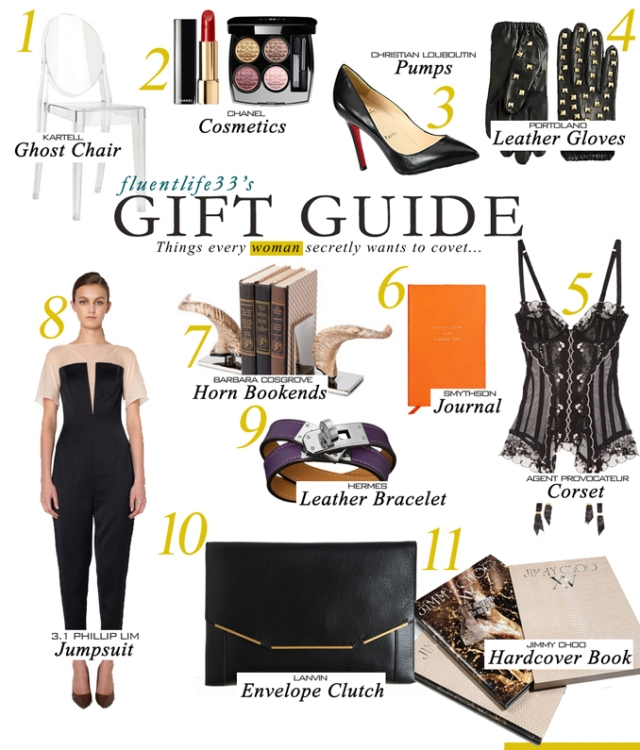 Holiday 2012 Women Gift Guide