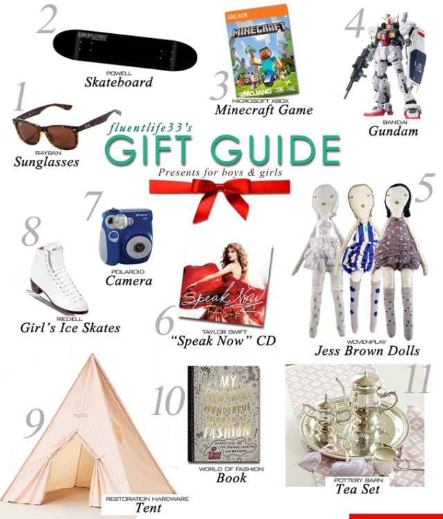 Holiday 2012 Kids Gift Guide