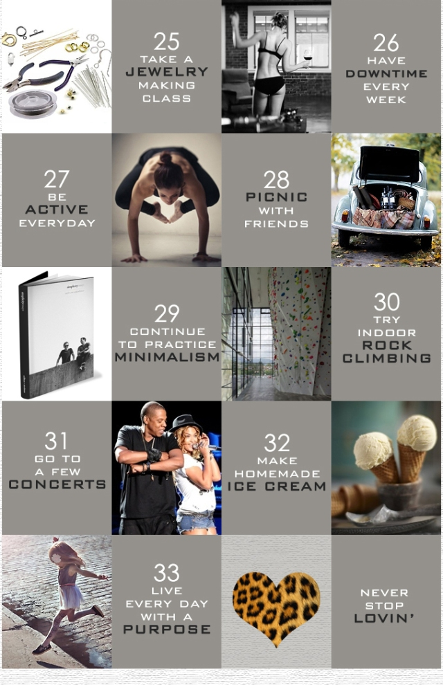 33 things to do