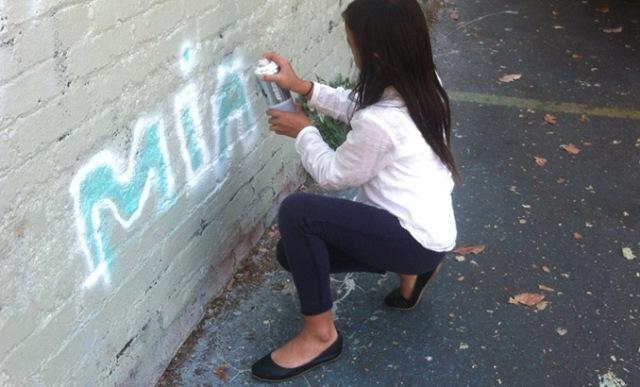 kid graffiti