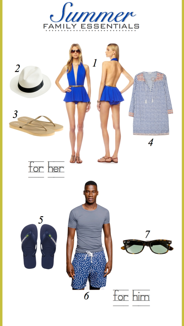 Women & Men Summer Essentials